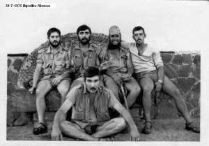 La mili en el Sahara 1975
