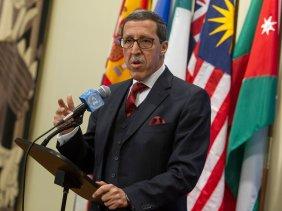 L'ambassadeur du Maroc auprès des Nations unies, Omar Hilale. D. R.