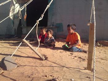 Dans les camps de réfugiés sahraouis