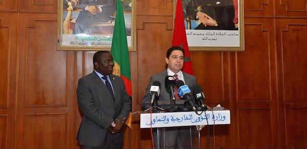 Visite du ministre des Affaires étrangères à Rabat / Ph. MAP